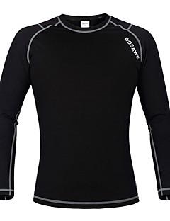 Wosawe® Cyklo bunda Unisex Dlouhé rukávy Jezdit na kole Zahřívací / Zateplená podšívka / KompreseMikina / Fleecové bundy / základní