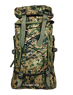 Camouflage Outdoor Mountaineering Bags 60l Capacity Shoulder Bag Men And Women Travel Backpack Camping Bag