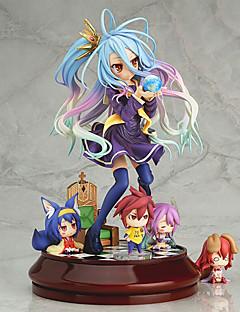 żadna gra no shiro life figurki 20cm anime modelu zabawki lalki zabawki (bez 4 małych liczb)