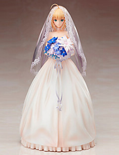 Fate/stay night Saber 25CM Anime Action Figures Model Toys Doll Toy