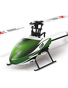 WLTOYS XK K100 Falcom 6CH Flybarless 3D6G System RC Helicopter BNF