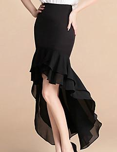 מקסי-בינוני (מדיום)-סגנון-חצאית(פוליאסטר)
