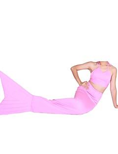 Shiny Metallic Tail Mermaid Animal Zentai