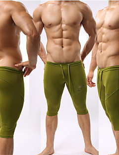 Running Swimwear / Pants/Trousers/Overtrousers / 3/4 Tights / Bottoms Men'sBreathable / High Breathability (>15,001g) / Moisture