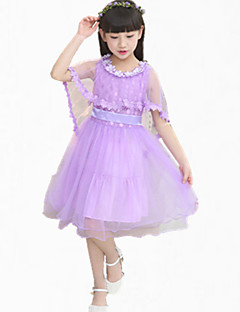 Girl's Dress,Lace / Dresswear Cotton Summer