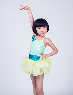 Ballet Dresses Children's Performance Organza / Sequined / Lycra Ruffles / Sequins / Tiers As PictureBallet / Modern Dance / Jazz /