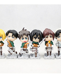 Attack on Titan Overige PVC One Size Anime Action Figures model Toys Doll Toy