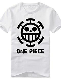 に触発さ ワンピース Trafalgar Law アニメ系 コスプレ衣装 コスプレTシャツ プリント 半袖 Tシャツ のために 男女兼用