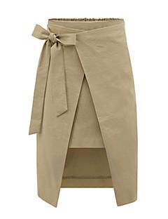 Damen Röcke - Sexy / Retro Übers Knie Modal / Polyester Mikro-elastisch