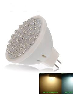 Spot LED Décorative Blanc Chaud / Blanc Froid SENCART 1 pièce MR16 GU5.3(MR16) 2W 38 Dip LED 120-180 lm DC 12 V