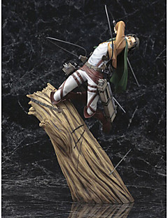 Anime Actionfigurer Inspirerad av Attack on Titan Cosplay PVC CM Modell Leksaker Dockleksak