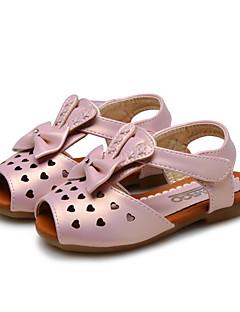 Sandaalit-Tekonahka-Baby Kengät-Häät / Ulkoilu / Puku / Rento-Pinkki / Hopea / Kulta