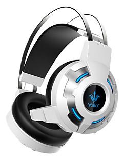 3,5 mm kablede hovedtelefoner (pandebånd) for computer