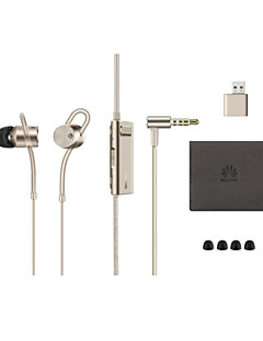 Original HUAWEI AM185 Headphone Circle Iron ANC Hybrid Noise Cancelling Re-Chargerable Earphones by HUAWEI Phones