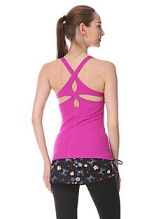 Yokaland®Yoga Hauts/Tops Séchage rapide / mèche / Anti-transpiration Extensible Vêtements de sport Yoga / Pilates / Fitness Femme