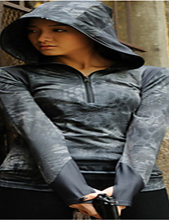 Naisten takki metsästykseen vaatteet camping&vaellus / kalastus / untraviolet resistenttien / tuulenpitävä / siirtävä / hengittävä