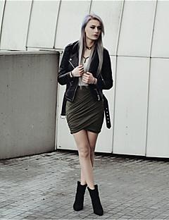 Sexig Shorts Byxor Kvinnors Microelastisk Polyester