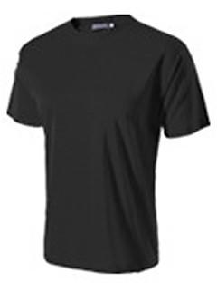 Homens Camiseta Acampar e Caminhar / Alpinismo / Esportes Relaxantes / Ciclismo/Moto / Corrida Respirável / Redutor de Suor VerãoAmarelo