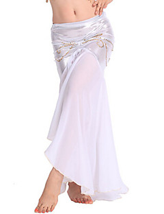 我々はベリーダンスのボトムス女性パフォーマンスシフォンドロップスカート