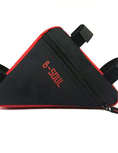 תיק אופניים 3Lתיקים למסגרת האופניים עמיד למים / מוגן מגשם / רוכסן עמיד למים / פס מחזיר אור / עמיד לאבק / ניתן ללבישה / רב תכליתיתיק