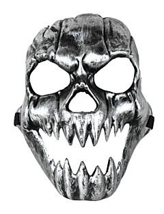 Terror Grimace Canine Skull Mask Silvery Black Halloween/Christmas/New Year