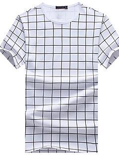 DMI™ Men's Round Neck Check Casual T-Shirt(More Colors)