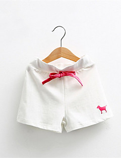 2016 Summer Puppy Embroidered Kids Girls Boys Unisex Beach Bathing Children's Clothing Cotton Soft Candy Color Shorts