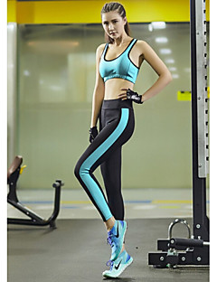 Running Tank / Underwear / Pants / Bottoms / Clothing Sets/Suits Women's Sleeveless Breathable / Quick Dry TeryleneYoga / Pilates /