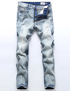 Men Ripped Jeans High Quality Famous Brand Design Jeans Men Plus Size Hip Hop Jeans Pants