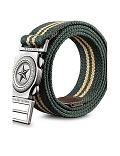 Unisex Canvas / Nylon Buckle,Party / Work / Casual Alloy All Seasons