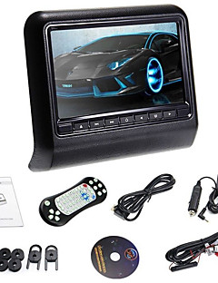"""Új Stíluselválasztó 9 """"fejtámla slot-in autós dvd lejátszó FM transmitter / ir / USB / SD / vezeték nélküli játék (1 db)"""