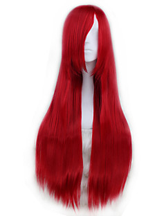 Cosplay Wigs Cosplay Cosplay Red Long Anime Cosplay Wigs 80 CM Heat Resistant Fiber Male / Female