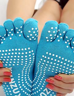 Femme Chaussettes Yoga Antidérapage Anti-transpiration Printemps Hiver Automne