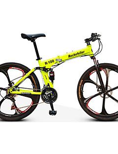 Bicicletă montană Biciclete pliante Ciclism 21 Speed 26 inch/700CC Frână Pe Disc Furculiță suspensie Suspensii Spate Comun Oțel