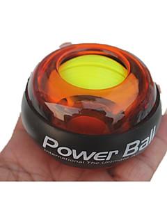 ışık yayan topu ile powerball spor top egzersiz