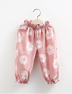 Lasten vaatteet tyttöjen housut kirjonta kukat nova tuotemerkin lasten kulumista ajan housut varten tyttöä