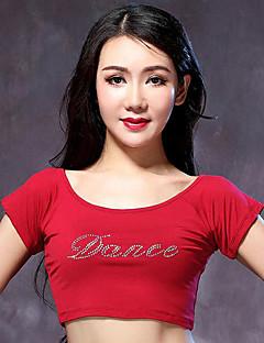 Dança do Ventre Blusas Mulheres Actuação Modal Pano 1 Peça TopTops length M:30cm / L:32cm Suitable height M:155-165cm / L:160-170CM