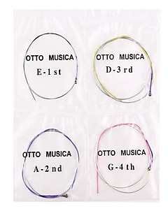 String Violin Musical Instrument Accessories Nylon Black