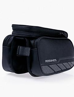 ROSWHEEL® Bike Bag 1.8LBike Frame Bag Waterproof Zipper / Wearable / Moistureproof / Shockproof Bicycle Bag Terylene / Mesh Cycle Bag