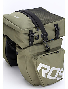 ROSWHEEL® Bike Bag 37LPanniers & Rack Trunk / Shoulder Bag Waterproof / Shockproof / Wearable Bicycle Bag PVC / 600D Polyester Cycle Bag