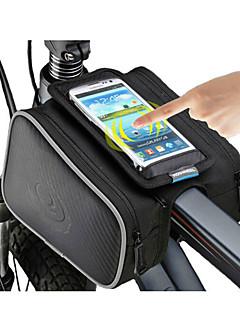 ROSWHEEL® Cyklistická taška 1.8LBrašna na rám Voděodolný zip / Odolný proti vlhkosti / Odolné vůči šokům / Nositelný Taška na kolo