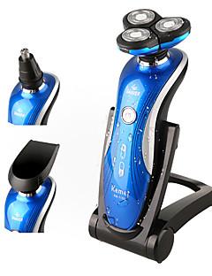 Elektrisk barbermaskin Barter og skjegg Elektrisk Vanntett N/A Tør Barbering Våt/Tørr Barbering Rustfritt stål