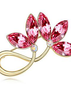 de înaltă calitate brosa de flori de cristal pentru femeie petrecere de nuntă