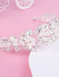 Women's / Flower Girl's Pearl / Crystal / Fabric Headpiece-Wedding / Special Occasion / Outdoor Headbands 1 Piece