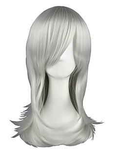 Cosplay Paruky Maria Holic Shinjirō Kurama Stříbro Střední Anime Cosplay Paruky 55 CM Horkuvzdorné vlákno Pánský / Dámský