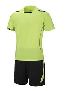 Ademend / Sneldrogend / Zweetopnemend-Heren-Fitness / Recreatiesport / Voetbal / Hardlopen-Pakken/Kledingsets(Overige) -Korte Mouw