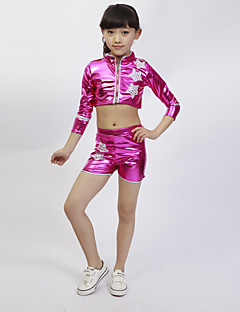Jazz Outfits Children's Performance Spandex Star Pattern/Print 2 Pieces Kid's Dance Costumes