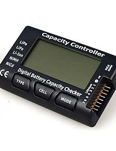 cellmeter7 / 1-7s digital batterikapacitet checker display spænding test tester controller til lipo liv li-ion NiMH