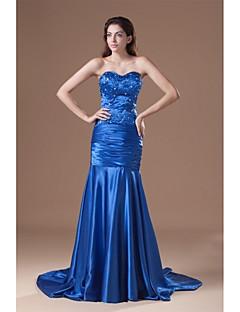 Evento Formal Vestido - Trompeta/Sirena Corte - Corazón Satén Estirado