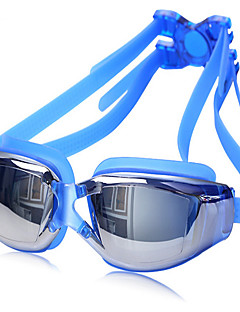 ZHENYA плавательные очки Универсальные Противо-туманное покрытие / Водонепроницаемый / Регулируемый размер / УФ-защита Силикагель
